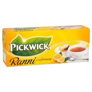 Pickwick Ranní Černý čaj, vybrané druhy 25 sáčků