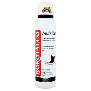 Borotalco Invisible deodorant 48h 150ml