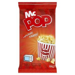 Mc Pop Druid Popcorn do mikrovlnné trouby s příchutí slaný 100g