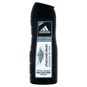 Adidas Charcoal clean šampon proti lupům pro muže 400ml
