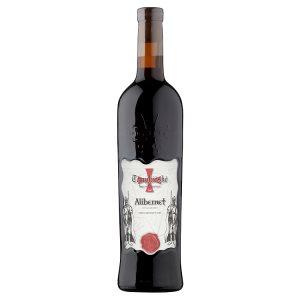 Templářské Sklepy Čejkovice Alibernet jakostní čevené suché víno 0,75l