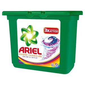 Ariel gelové kapsle 23 dávek, vybrané druhy