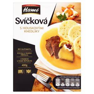 Hamé Life Style Svíčková s houskovými knedlíky hotové jídlo 400g
