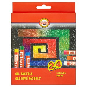KOH-I-NOOR Olejové pastely 24 barev