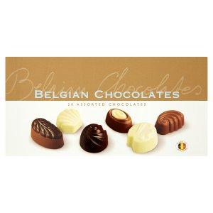 Směs belgických čokoládových pralinek 250g