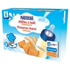 Nestlé Sušenkové mlíčko s kaší 2 x 200ml