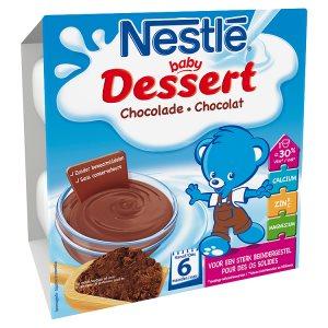 NESTLÉ BABY Dessert Čokoláda 4 x 100g