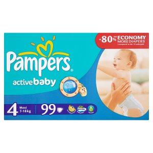 Pampers Active Baby Pleny 4 Maxi 99 ks