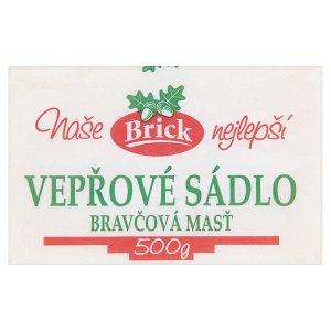 Brick Vepřové sádlo kostka 500g