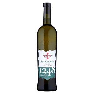 Templářské Sklepy Čejkovice Ryzlink vlašský víno bílé polosladké 0,75l