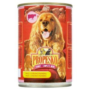 Propesko konzerva pro psy 415g, vybrané druhy