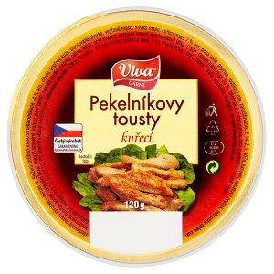 Viva Carne Pekelníkovy tousty kuřecí 120g