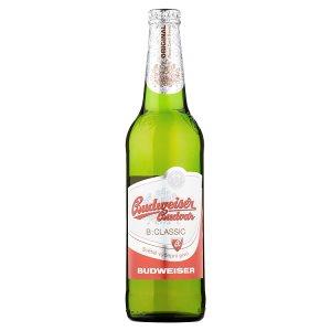 Budweiser Budvar B:Classic světlé výčepní pivo 0,5l v akci