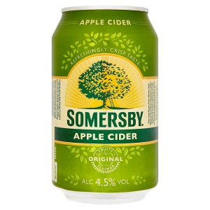 Somersby cider 330ml (plechovka), vybrané druhy
