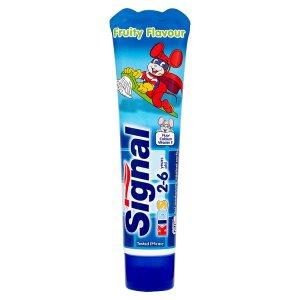 Signal Dětská zubní pasta s ovocnou příchutí 50ml