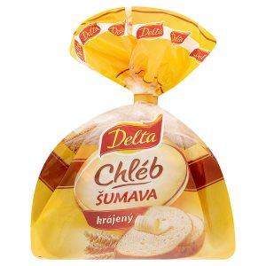 Delta Šumava pšenično žitný chléb krájený 250g