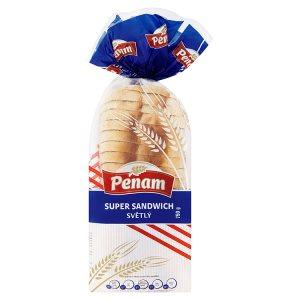 Penam Super sandwich světlý chléb pšeničný 750g