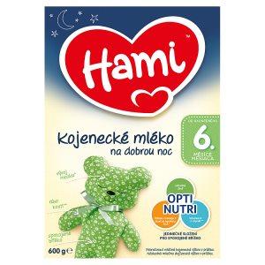 Hami Kojenecké mléko na dobrou noc 6+ 600g
