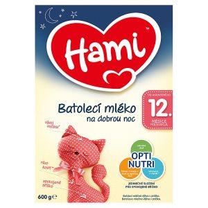 Hami Batolecí mléko na dobrou noc 12+ 600g