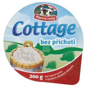Madeta Báječný český Cottage bez příchuti 200g