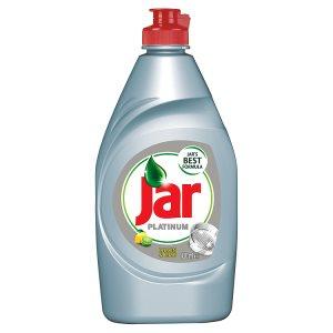 Jar Platinum Prostředek na mytí nádobí 430ml, vybrané druhy