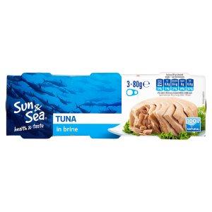 Sun & Sea Tuňák ve vlastní šťávě 3 x 80g