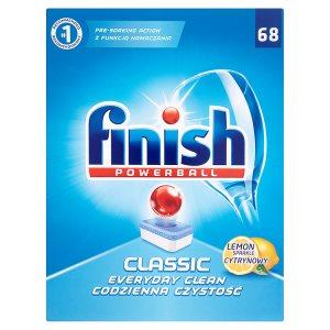 Finish tablety do myčky 68 ks, vybrané druhy