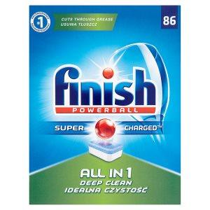 Finish Powerball All in 1 tablety do myčky nádobí 86 ks 1556,6g