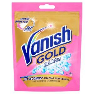 Vanish Oxi Action Gold odstraňovač skvrn 10 praní 300g