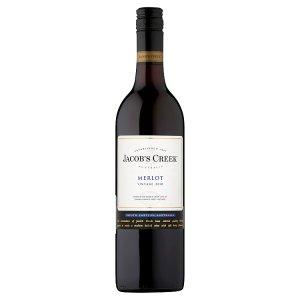 Jacob's Creek Merlot 2010 červené víno 750ml