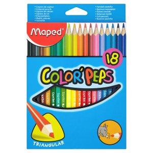 Maped Color' Peps Pastelky trojboké 18 ks