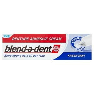 Blend-A-Dent Fresh Mint fixační krém na zubní náhradu extra silný 47g