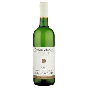 Znovín Znojmo Rulandské šedé 2011 suché odrůdové bílé víno jakostní 0,75l