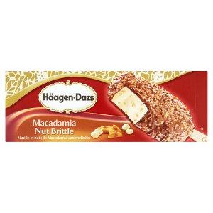 Häagen-Dazs Vanilkový mražený krém s mléčnou čokoládou, makadamovými ořechy a rýžovými křupkami 80ml