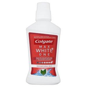 Colgate Max White One Ústní voda bez alkoholu 500ml
