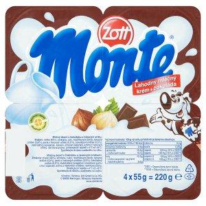 Zott Monte 4 x 55g