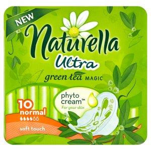 Naturella Green Tea Magic Ultra normal hygienické vložky s jemnou vůní 10 ks