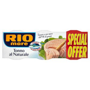Rio Mare Tuňák 3 x 160g, vybrané druhy
