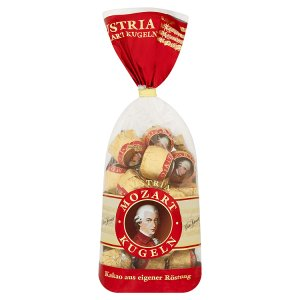 Victor Schmidt Mozartovy koule plněné bonbóny v hořké čokoládě 18 ks 297g