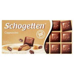 Schogetten Mléčná čokoláda s náplní capuccino 100g