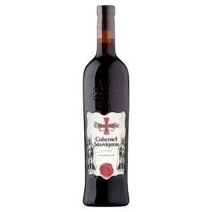 Templářské Sklepy Čejkovice Cabernet Sauvignon jakostní červené suché víno 0,75l