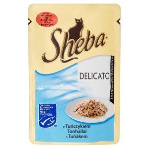 Sheba Delicato Tuňák kompletní krmivo pro dospělé kočky 85g