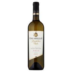 Víno Mikulov Sommelier Club Tramín červený víno s přívlastkem pozdní sběr suché bílé 0,75l
