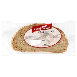 Chléb konzumní krájený 250g