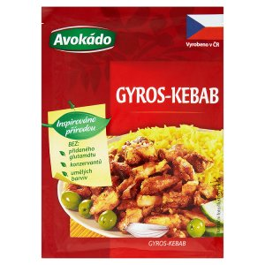 Avokádo Gyros-kebab kořenící přípravek sypký 22g