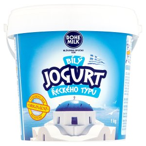 Bohe Milk Bílý jogurt řeckého typu 1kg