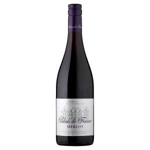 Pays d'Oc Palais de France Merlot červené víno suché 750ml