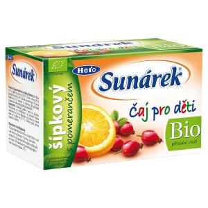 Sunárek Bio dětský čaj 20 ks, vybrané druhy