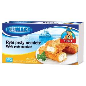 Nowaco Viki Rybí prsty nemleté 10 ks 250g