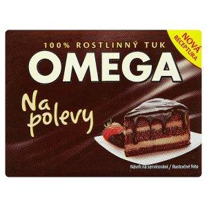 Omega 100% rostlinný tuk na polevy 250g